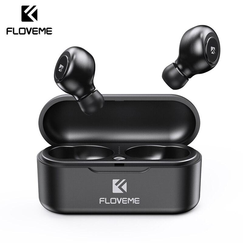 FLOVEME TWS 5.0 Wireless Bluetooth Headphones Outdoor Sport Game Music Bluetooth Wireless Earphone Headset With 3D Stereo Sound