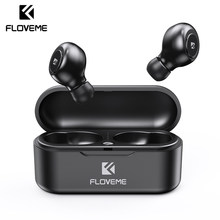 FLOVEME TWS 5.0 Wireless Bluetooth Headphones Outdoor Sport Game Music Bluetooth Wireless Earphone Headset With 3D Stereo Sound(China)
