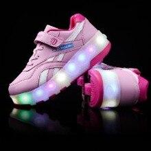 M Модный яркий светодиодный светильник для девочек, светящийся светодиодный светильник, Ослепительная обувь с зарядным выключателем USB, неограниченное количество