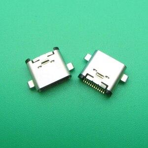 Image 4 - 5 adet 50 adet Usb tip C şarj bağlantı noktası jakı Dock soket fişi Lenovo ZUK Z1 Z2 Z2PRO p1C72 P1C58 şarj konnektörü onarım parçaları