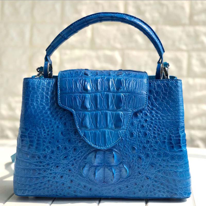 Ouruili Fashion  New  Really  Crocodile Leather  Women Bag Imported From Siam,Thailand Women Handbag