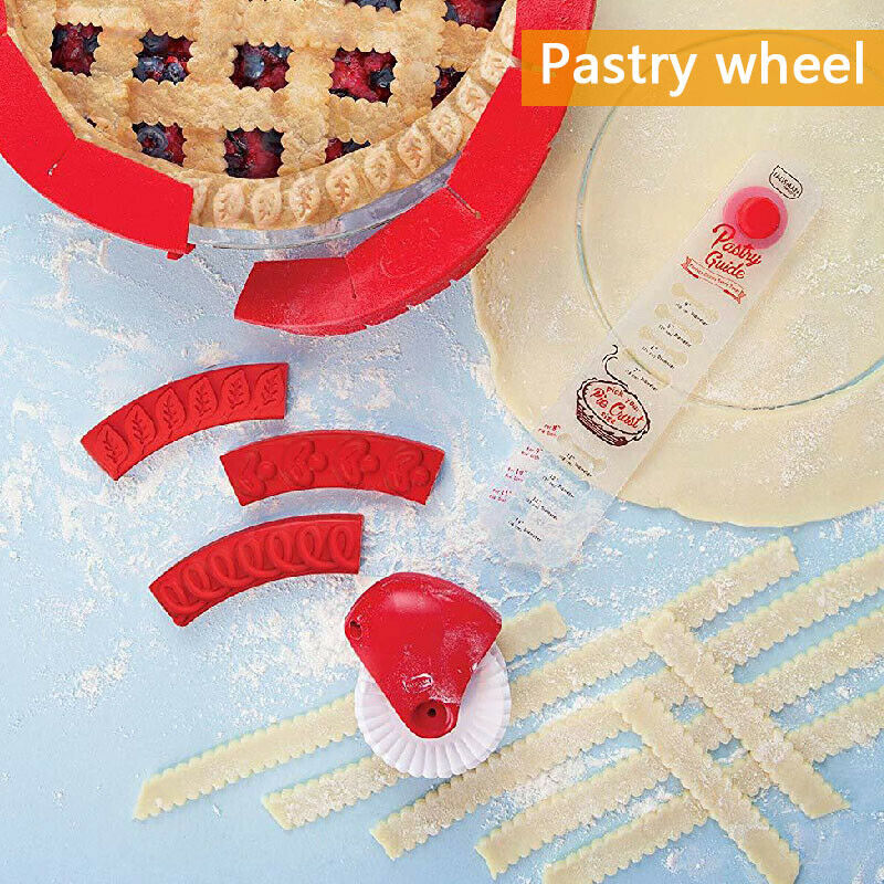 Pie Crust Wheel Cutter - Pie Decor Cutter Wheel