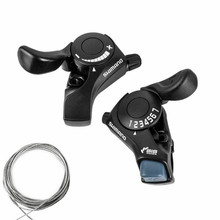 Professional Bicycle Derailleur SL-TX30 Thumb Gear Shifters 3/6/7 Speed Shift Lever Set Bike Derailleur Bicycle Part Accessories sl m310 mountain hybrid bike bicycle parts 3x8 speed shift trigger shifter lever shift lever right left bicycle transmission