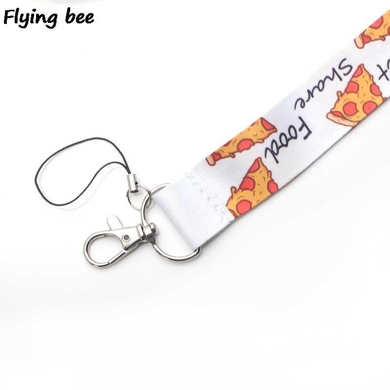 Flyingbee Friends TV shows Lanyard Keychain Keys Holder Women Strap Neck Lanyards for Keys ID Card phone lanyard X0376