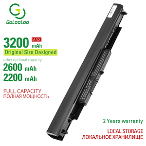 Gololoo Аккумулятор для ноутбука HP 240 245 250 G4 для Pavilion 14-ac0XX 15-ac0XX HS03 HS04 HSTNN-LB6V HSTNN-LB6U