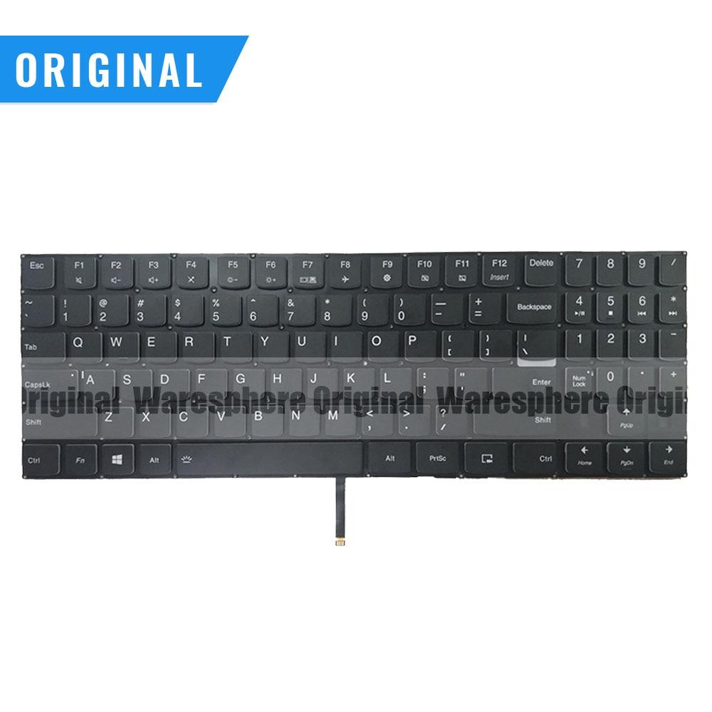 New Original US Backlit Keyboard For Lenovo Legion Y530 Y530-15ICH Black
