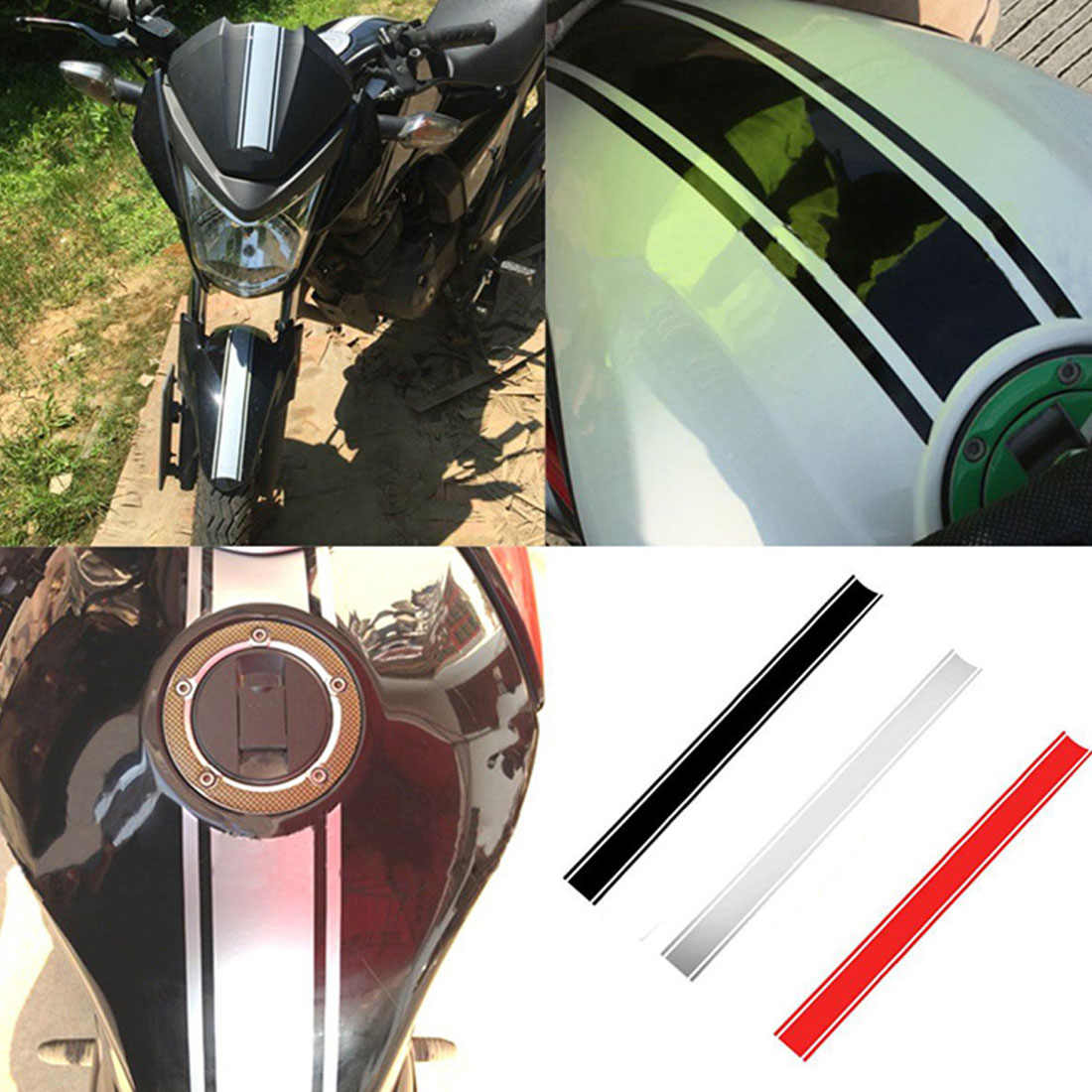 Motorcycle Reflective Sticker Fuel Oil Tank Pad Decal FOR Aprilia CAPANORD 1200 Rally ETV1000 V4R FactoRy DORSODURO 1200