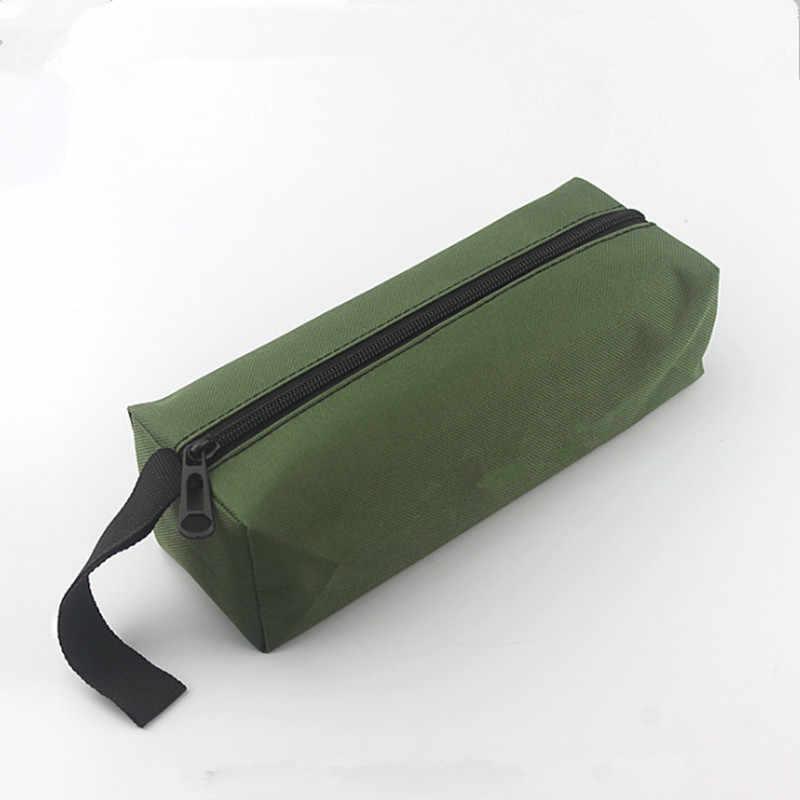 Portabel Listrik Alat Tas Tangan Alat Case Tahan Air Tas Kanvas Multi-Fungsi Sekrup Mata Bor Kecil Alat Penyimpanan