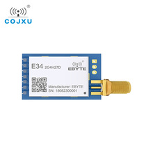 E34 2G4H27D nRF24L01 2,4G 27dBm inalámbrico Módulo de puerto serie Módulo Transceptor Inalámbrico