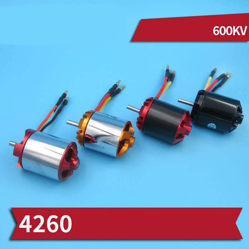 1PC High Power 4260 Motor 2S-5S 600KV DC Motors 1200W N52 Brushless Motor W Motor Bracket For RC Bait Boats Modified Parts