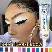 1 PC Hot 12 kolory matowy Neon Eyeshadow wysoki Pigment cień do powiek pył lato matowy długi trwały cień do powiek krem narzędzie do makijażu oczu
