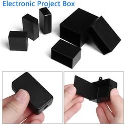 13 Maten Abs Plastic Waterdichte Zwarte Behuizing Instrument Case Plastic Hoge Kwaliteit Elektronische Project Doos Elektrische Benodigdheden