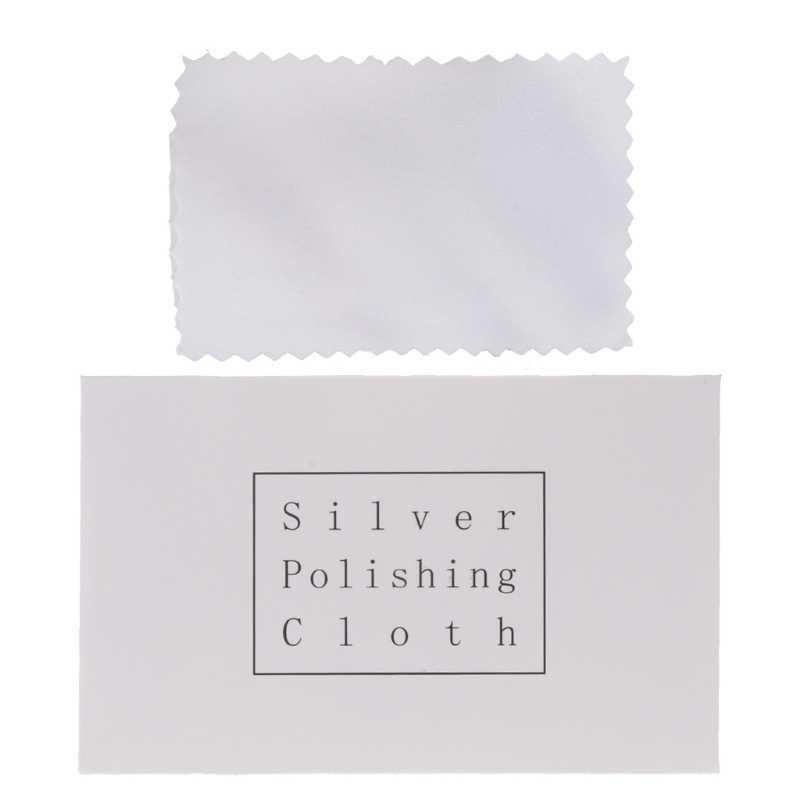 1 Bông Vải Đánh Bóng Để Vệ Sinh Bạc Vàng Và Bạch Kim Trang Sức Bụi