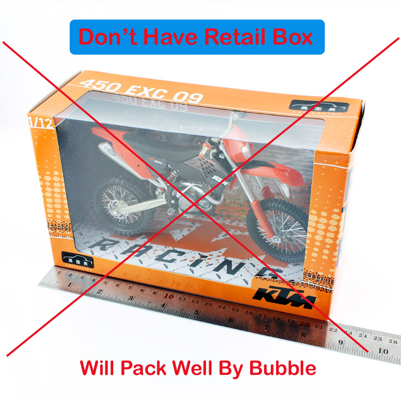 1//12 Kawasaki KX450F Bud Racing USA MXGP No#121 motocross motorcycle toy models