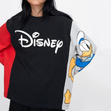 Print Large Cartoon Sweatshirt
