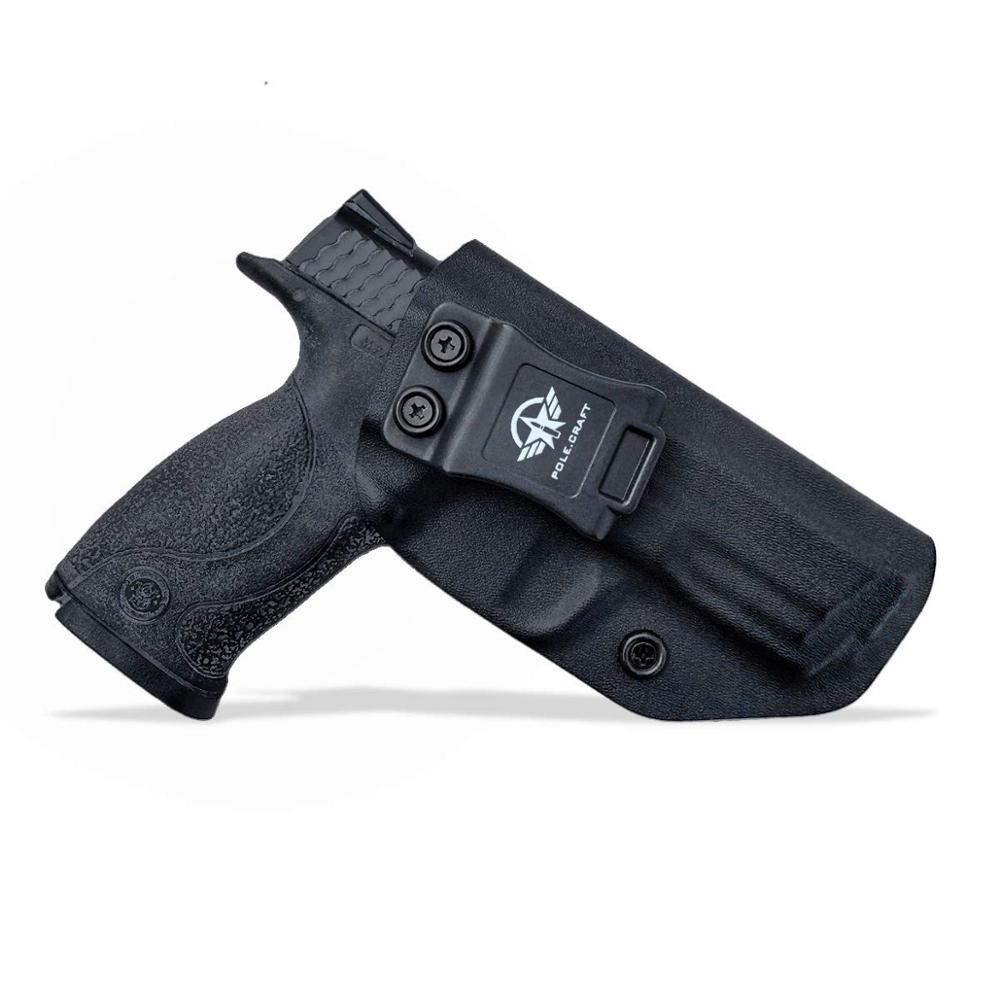 PoLe.Craft IWB KYDEX Gun Holster Fits: M&P Full Size 4.25 9mm/40 S&W Pistol Case Inside Concealed Carry Guns Pouch Accessories image