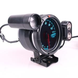 Image 3 - مقياس سرعة الدوران Difi BF 3.75 بوصة 7 ألوان قياس 0 11000 دورة في الدقيقة مع محرك متدرج وضوء تحول السيارة لقياس السيارة