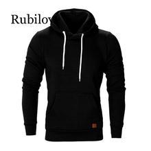 Rubilove Newly Design Men Shirt Long Sleeve Big Size Winter Hooded Sweatshirts Streetwear Hip Hop Fashion Hoodie Sweatsh