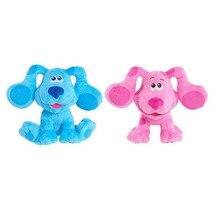 Azul pistas & você pelúcia 20cm azul & magenta beanbag rosa cão de pelúcia animais de pelúcia brinquedo para crianças presente de natal brinquedo