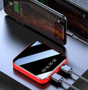 Image 3 - Power Bank 20000 mAh 2.1A szybkie ładowanie PowerBank 20000 mAh USB PowerBank zewnętrzna ładowarka do Xiaomi Mi 9 8 iPhone 11 X