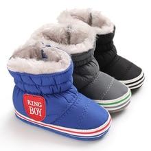 Toddler Boots Crib-Shoes Prewalk Girls Baby 0-18months Winter Boy Warm for Soft-Sole