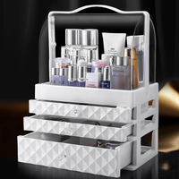 Cosmetic storage box dustproof acrylic desktop makeup box large dressing table skin care products lipstick rack WF8031130