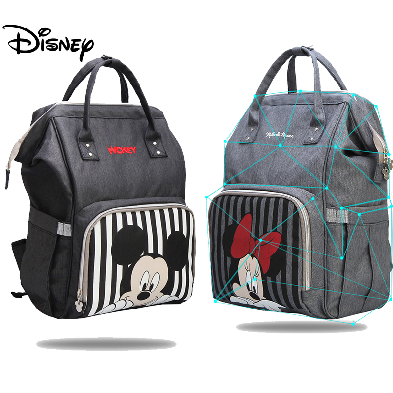 Disney Diaper Bag Backpack For Mummy Bag Multifunction Bags Large Capacity Baby Carriage Bag Mummy Maternity Nappy Bag Organizer