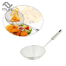 POT-FILTER Cookware Colander Skimmer Baking-Tools Kitchen-Accessories Food-Oil Stainless-Steel