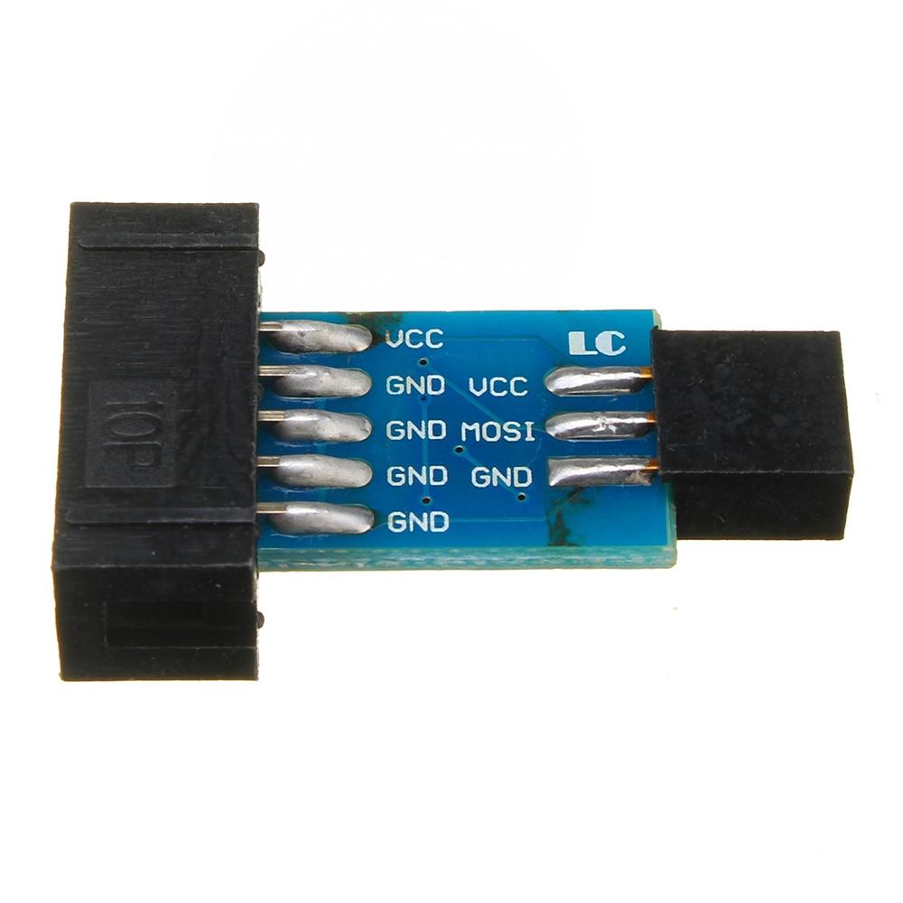 10 Pin To 6 Pin Adapter Board Connector For ISP Interface Converter AVR AVRISP USBASP STK500 Standard Geekcreit For Arduino