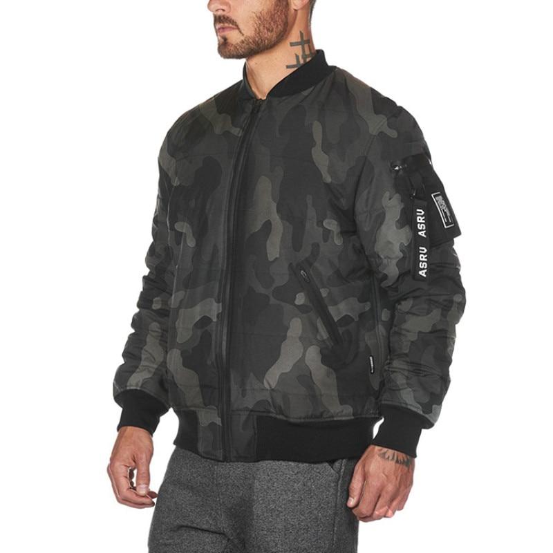 Men Camouflage Jackets Coat
