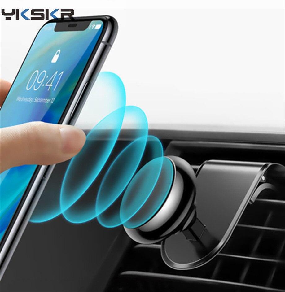 Huwaei S9 7 GPS S8 PDA 6 y 7 8 8 Getihu Soporte magn/ético de ventilaci/ón de coche para smartphone iPhone 6 LG Samsung S7