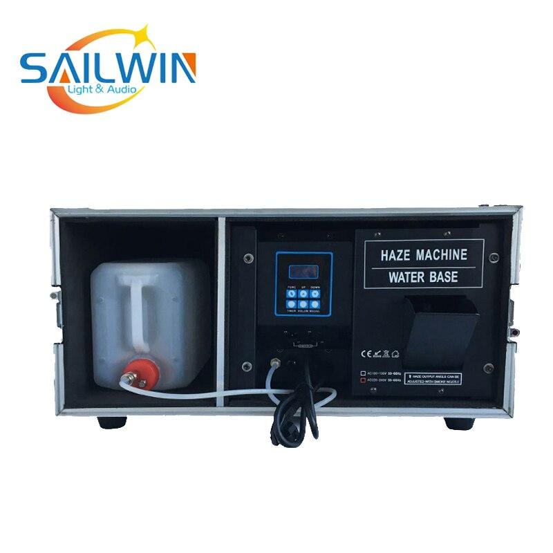 Prezzo di fabbrica 1500W Haze Macchina A Base D'acqua Con DMX Caso di Volo Della Fase di Fumo Effetti Speciali Macchina FOGGER