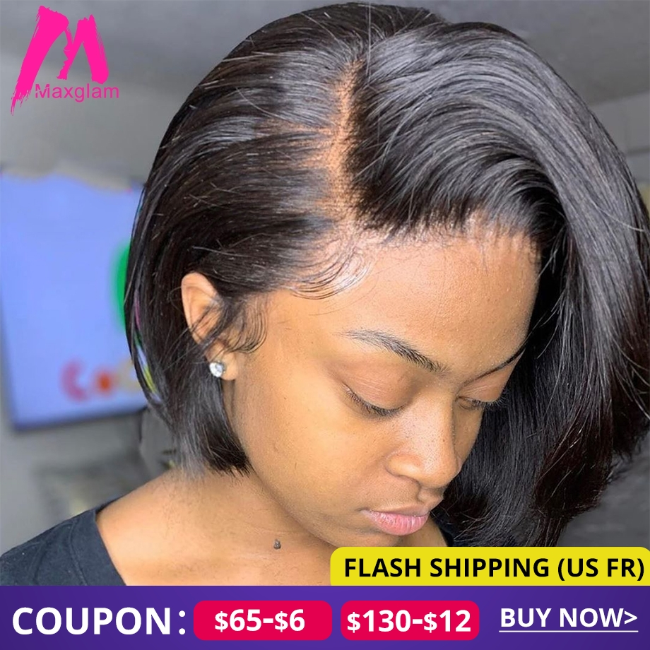 Bob Wig Blonde 613 Lace Front Human Hair Wigs Hd Short Frontal Brazilian Remy Straight Ombre Colored Burgundy For Black Women