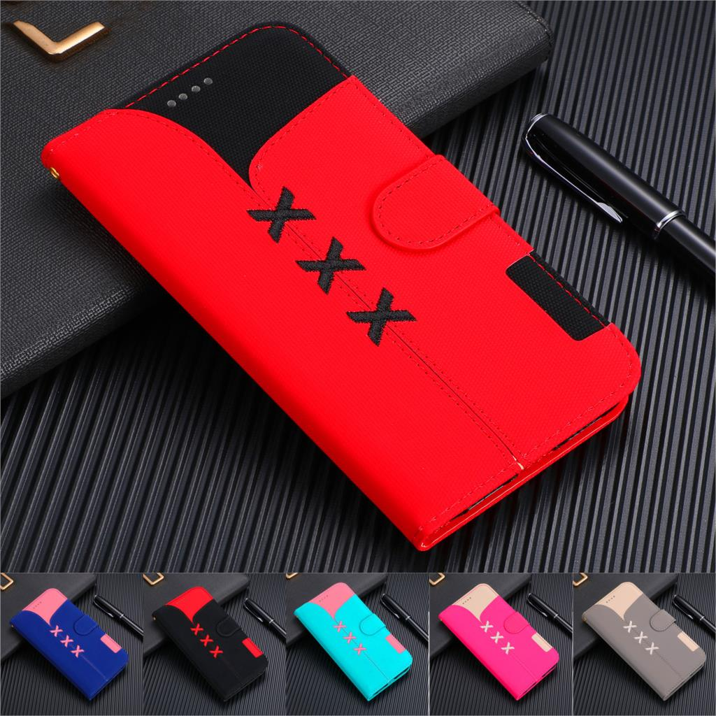 Luxury PU <font><b>Leather</b></font> Wallet <font><b>Case</b></font> For Samsung <font><b>Galaxy</b></font> S8 <font><b>S9</b></font> S10 Plus S10e Note 9 M20 Card Slot Flip Cover <font><b>Case</b></font> Stand Phone Bags Coque image