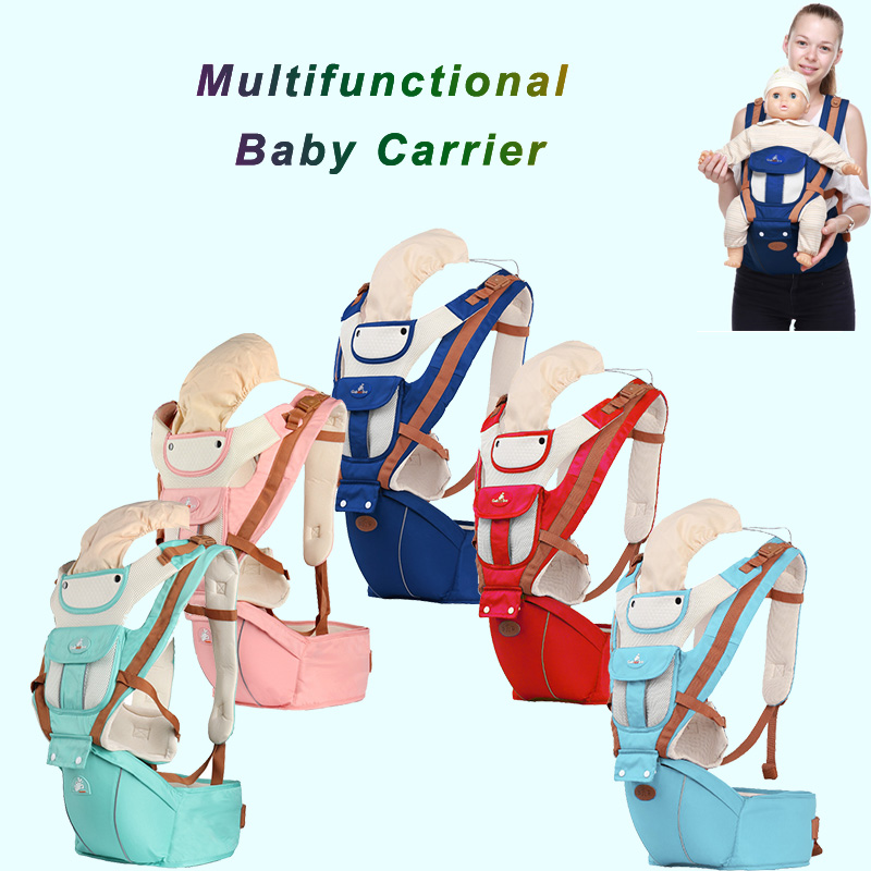 0-36 Months Ergonomics Baby Carrier Hipseat Breathable Portable Kangaroos Baby Backpack For Carring Children Wrap Infant Sling