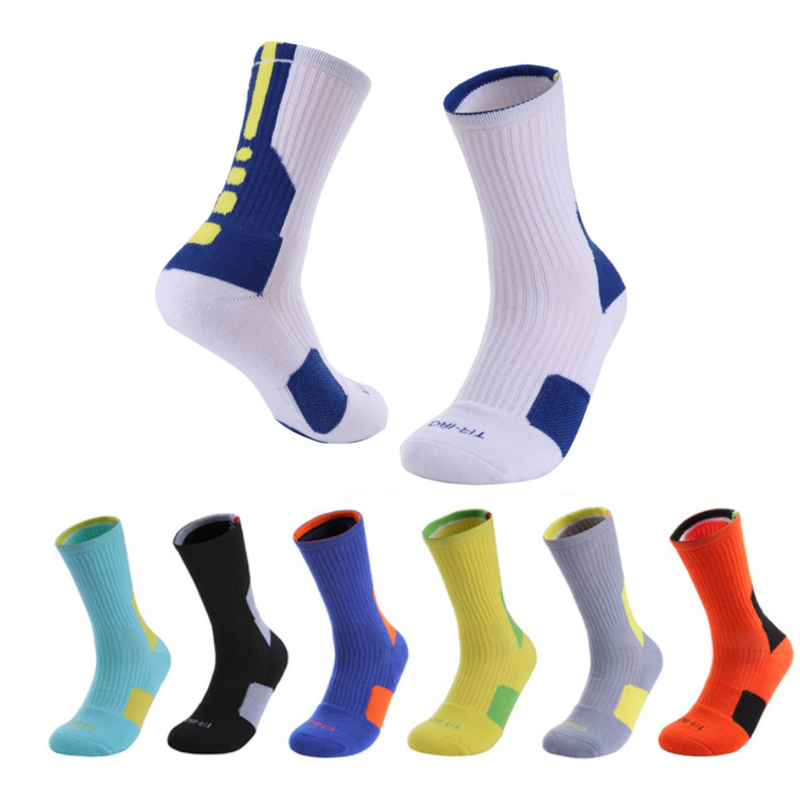 Hot Sell Super Star Basketball Socks Elite Thick Sports Socks Non-slip Durable Skateboard Towel Bottom Socks Stocking
