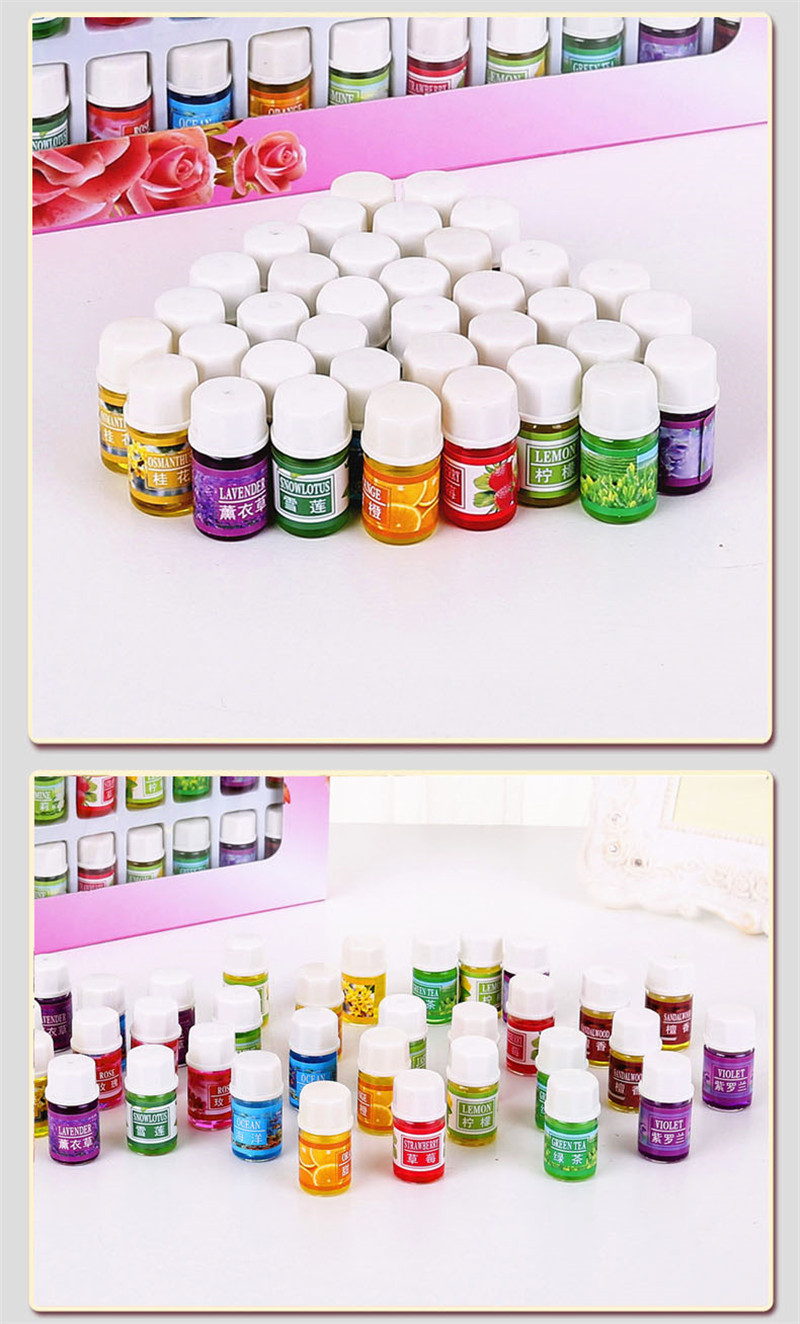 36*3ml  Floral Essential Oils for Aromatherapy  3