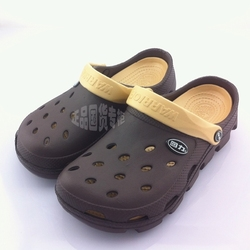 Charming New 2020 Sandals Men Hole Slippers Couple Sandals Mules And Clogs Garden Shoes For Men Breathable Beach Shoes