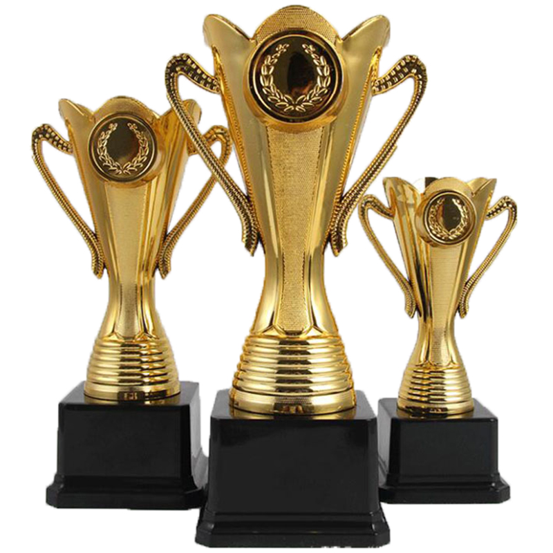 Free Customize Trophy College Sports Award Gold Plated Trophy Cup Ceremony Team Sports Competition Metal Craft Souvenir Trofeu