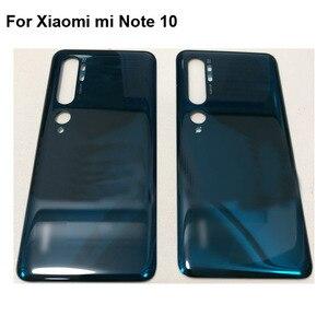 Оригинальный Новый чехол с полным аккумулятором для Xiaomi Mi Note 10, задняя крышка, корпус для Xaomi Xiomi Mi Note10 с логотипом