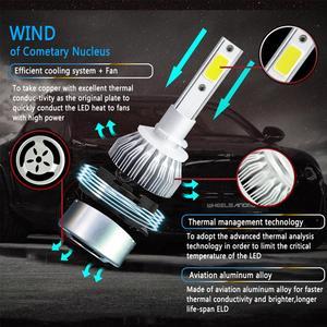 Image 5 - Evrensel yüksek güç LED araba farlar otomatik su geçirmez far ampuller H1 H3 H7 H8 H9 H11 880 881 9005 9006 6000K Led sis lambası