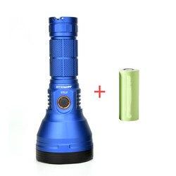 Astrolux FT03 SST40-W 875m type-C перезаряжаемый фонарик + 26650 5000mAh 3C с питанием от аккумулятора, фонарь, фонарь, прожекторы