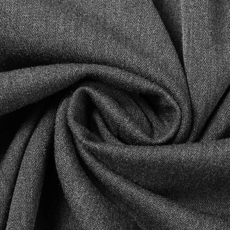 Блейзер Мужской на одной пуговице, Британский костюм для отдыха, куртка, молодежное пальто для мужчин, Осенние однотонные блейзеры с длинным рукавом, мужская одежда