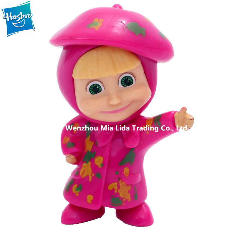 Hasbro MashaBear 6pcs set Doll Model toys Toy model ornament in Action Toy Figures from Toys Hobbies