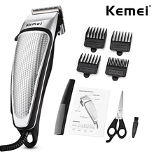 Household Hair Trimmer High Quality Electric Clipper With 4 Limit Combs Strong Power Hair Cutting Machine DIY Barber Tool 45