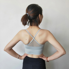 Women Fitness Yoga Sports Bra Seamless High Stretch Breathable Top For Running Gym Top  Athletic Vest  Women цена и фото