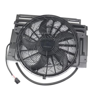 AP03 400W for BMW E53 X5 4.4i 3.0d 2000-2006 64506908124 FAN MOTOR COOLING AIR CONDITIONER FAN FRAME image
