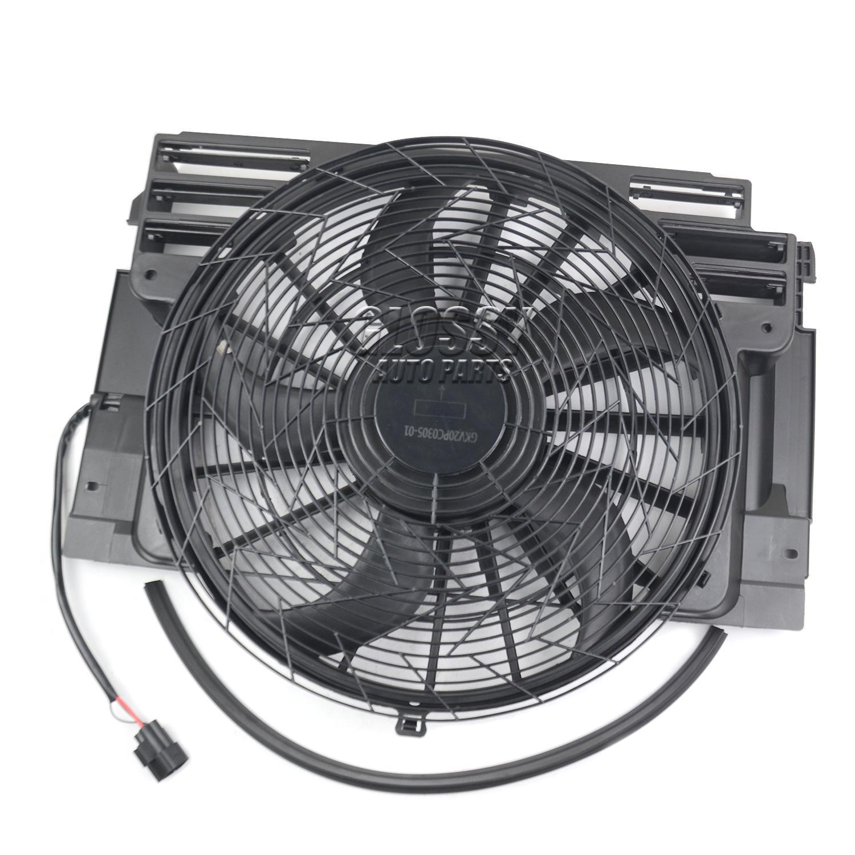 Enfriador Ventilador Motor enfriador para X5 E53 2000 2006 64546921940