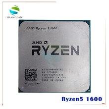 AMD Ryzen 5 1600 R5 1600 R5 PRO 1600 3.2 GHz 6 Core 12 Thread 65W CPU Processor YD1600BBM6IAE YD160BBBM6IAE ซ็อกเก็ต AM4