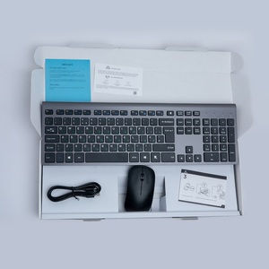 Image 5 - Russian Wireless Keyboard Mouse set Rechargeable 106 Keys Full Size Wireless Keyboard and 2400 DPI Mouse,For Laptop PC Computer